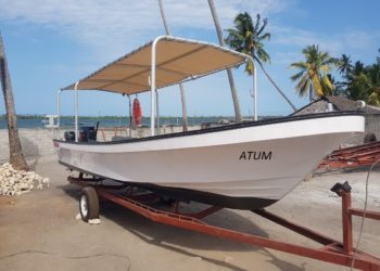 MEP Yamaha 7m fishing skiff, the 'ATUM' (meaning tuna)