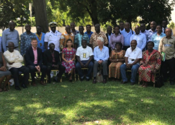 Members of the World Bank Fisheries and Aquaculture Planning Meeting