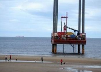 Haven seariser platform to drill boreholes as part of the Sofia Offshore Wind Farm project