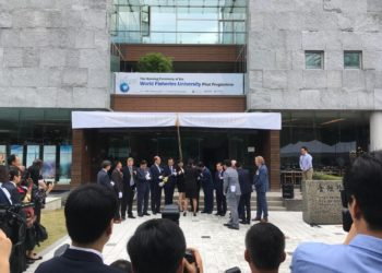 MEP attend Opening of World Fisheries University in South Korea