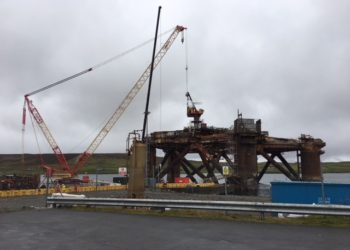Decommissioning of Oil Rig by Peterson Offshore Group